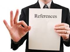 Reference Check Cheat Sheet